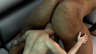 mini 3d stud gets fucked in the ass