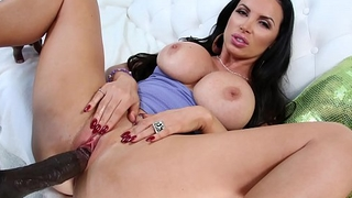 BANGBROS - MILF Nikki Benz Rides Lexington Steele'_s Big Black Dick!