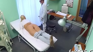 Have a fun watching the wild sex session with a nasty doctor