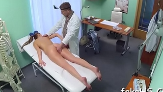 Filthy doctor knows the most excellent ways to enjoy the shunned sex