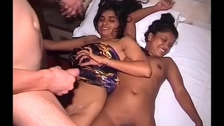 indian teen thressome fuck orgy
