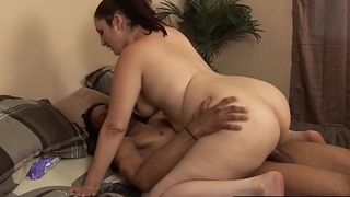 PAWG Taking Huge Gloomy Cock BBC Interracial