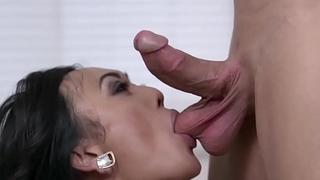 Giovanni fucking a hot asian shemale