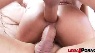 Latina Loveliness Liv Revamped'_s 1st Double Penetration Action