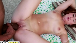 BANGBROS - Tiny Asian Babe Saber Heart Takes On A Big Black Dick