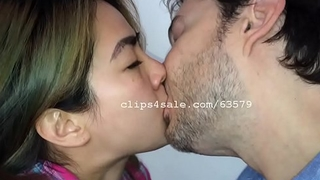 Sean and Lily Kissing Video 5