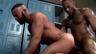 GayForced.com - Big Black Gay Dick Anal Destroy White Ass After Training